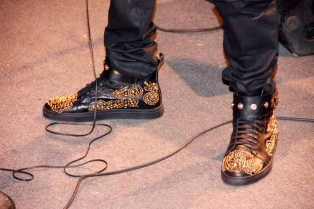 2face-chaussures-or 3