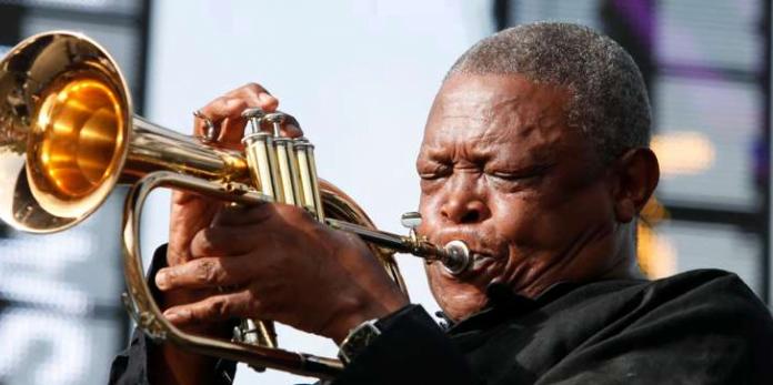 trompettiste Hugh Masekela
