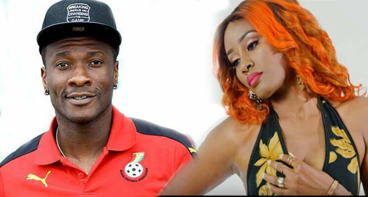 Gyan Asamoah et queen biz