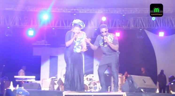 Maabo au concert de Dip