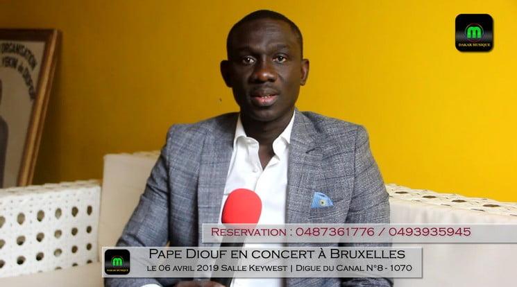 Pape diouf concert bruxelles