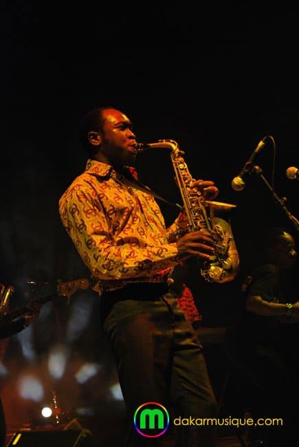 Seun Kutti à l'Institut Français de Dakar