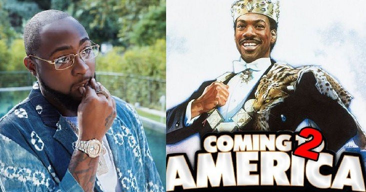 "Davido sera présent dans ""Coming to America 2"""