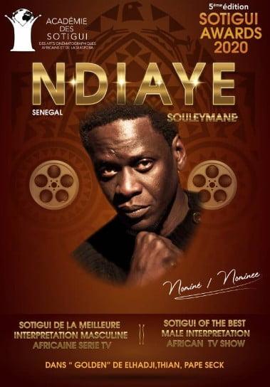Acteur Souleymane Ndiaye alias Jams