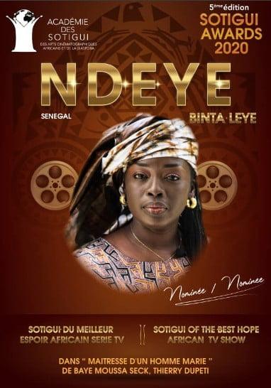 Ndeye Binta Leye, alias Lala maitresse d'un homme marié
